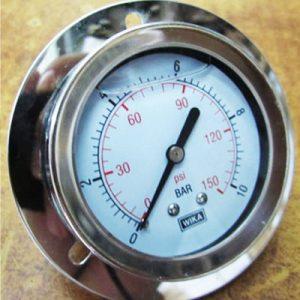 Đồng hồ đo áp xuất chân sau có vành