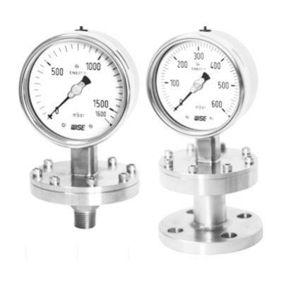 Đồng hồ đo áp suất Wise dạng màng - Model P10, P30